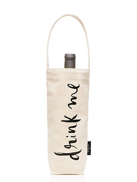 Frosted Petticoat Top 10 Summer Foodie Guide Drink Me Wine Tote by Kate Spade - Top 10 Summer Foodie Must-Haves