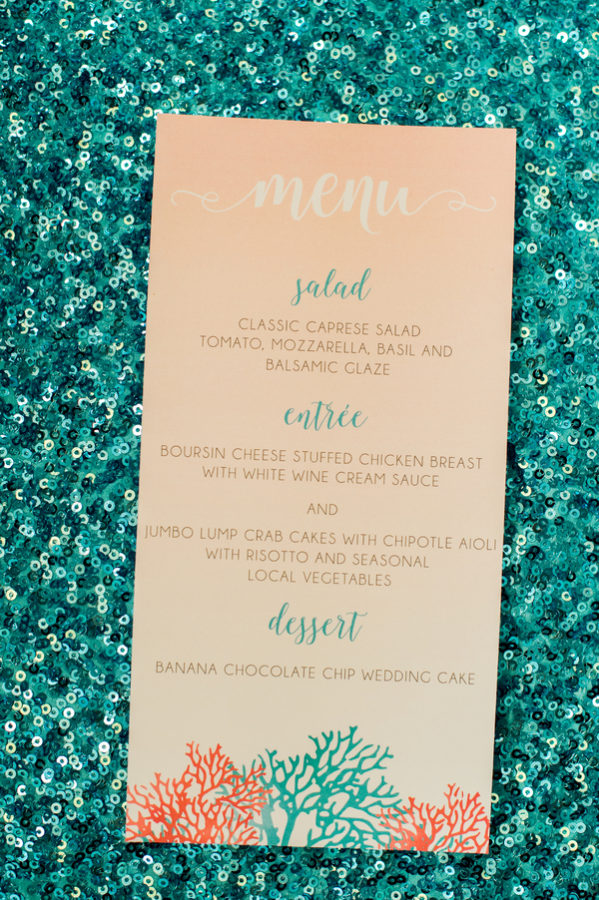 Ocean Mermaid Party Theme 6 - Seaweed Caprese Salad