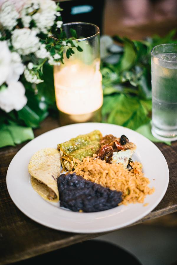 Rustic Texan Barn Wedding 1 - Pomegranate Chipotle Salsa