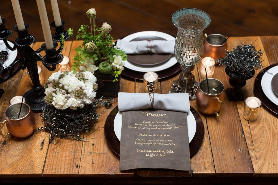Steampunk vintage party decor 3 - How to Sear a Scallop