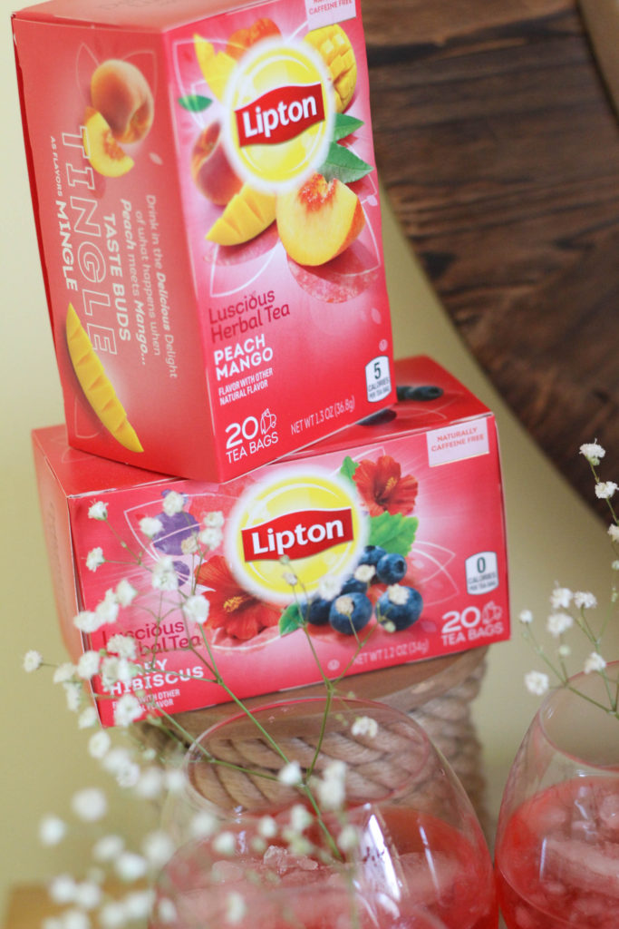 Warm weather afternoon tea party featuring Lipton Teas Herbal blends The Frosted Petticoat 10 683x1024 - Afternoon Tea Party Ideas