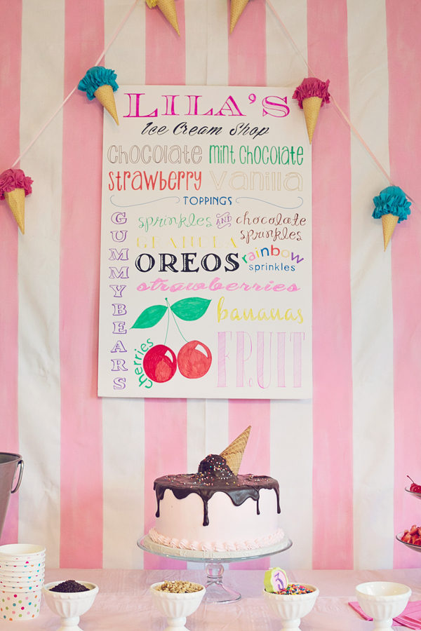 Ice cream party 6 - Mascarpone Banana Ice Cream