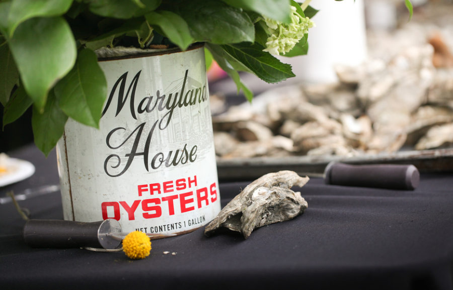 Oyster themed wedding 2