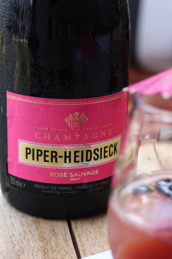 Sacre Sauvage Cocktail - Piper-Heidsieck Rose Sauvage