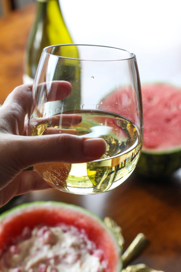 Sequoia Grove Chardonnay paired with Swiss Watermelon Dip 1 1 - Sequoia Grove Chardonnay + Swiss Watermelon Dip
