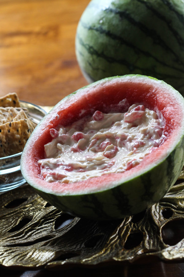 Sequoia Grove Chardonnay paired with Swiss Watermelon Dip