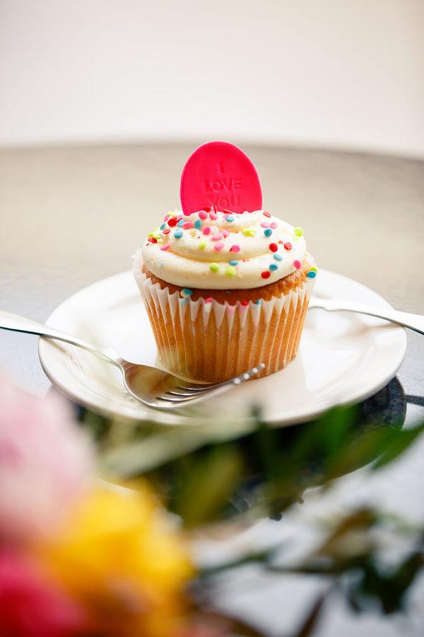 Spiked Funfetti Cupcake