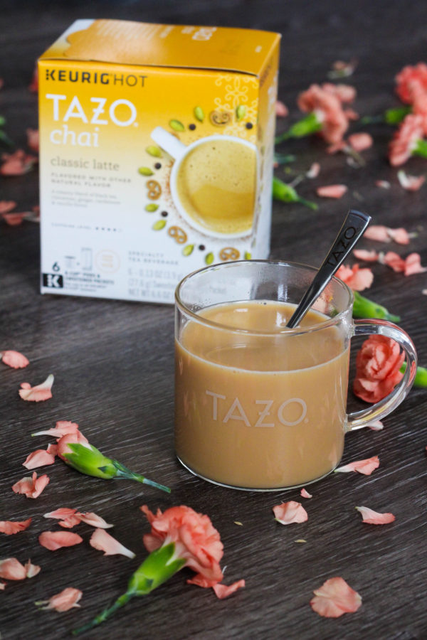 Sweet Meets Spicy TAZO® Chai Latte K Cup® pods The Frosted Petticoat 5 - Sweet Meets Spicy