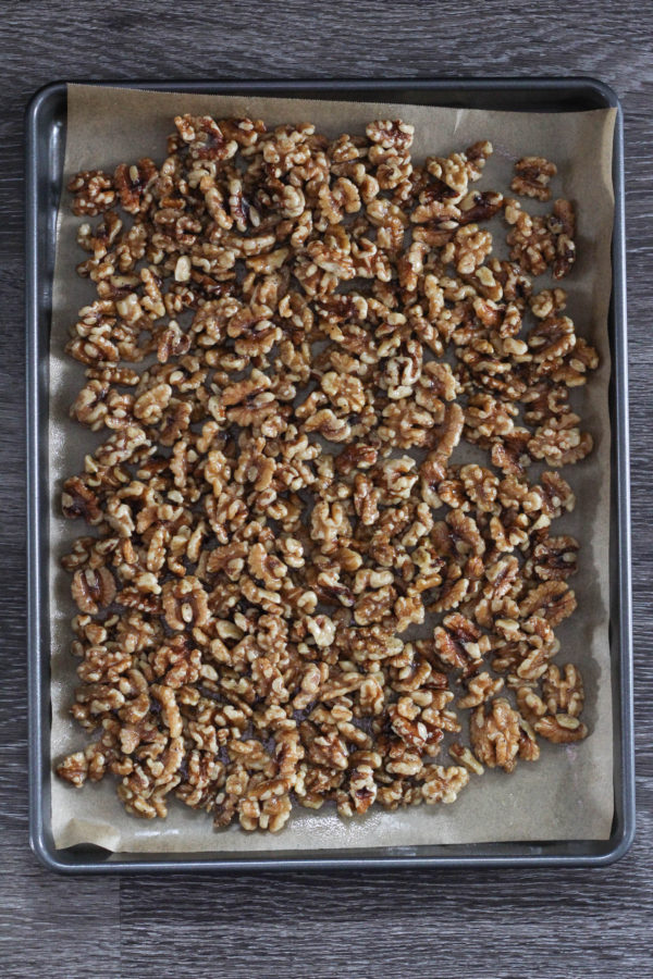 Honey Roasted California Walnuts  - Honey Roasted Cardamom California Walnuts
