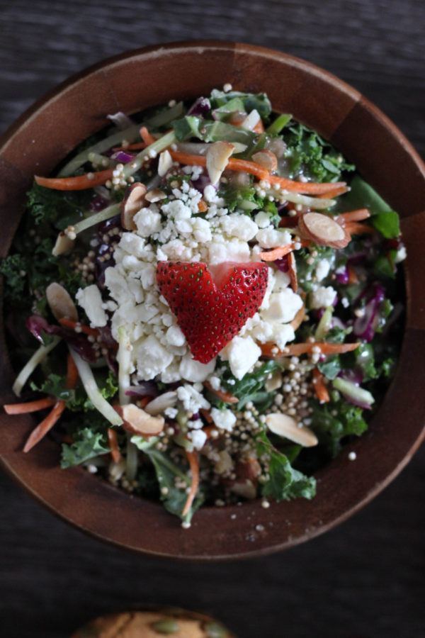 Strawberry Harvest Salad by Eat Smart  - The Strawberry Harvest