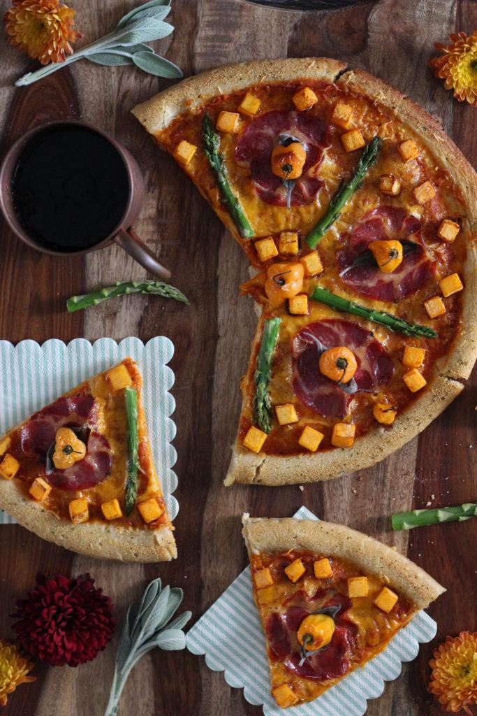 Spicy Harvest Pizza