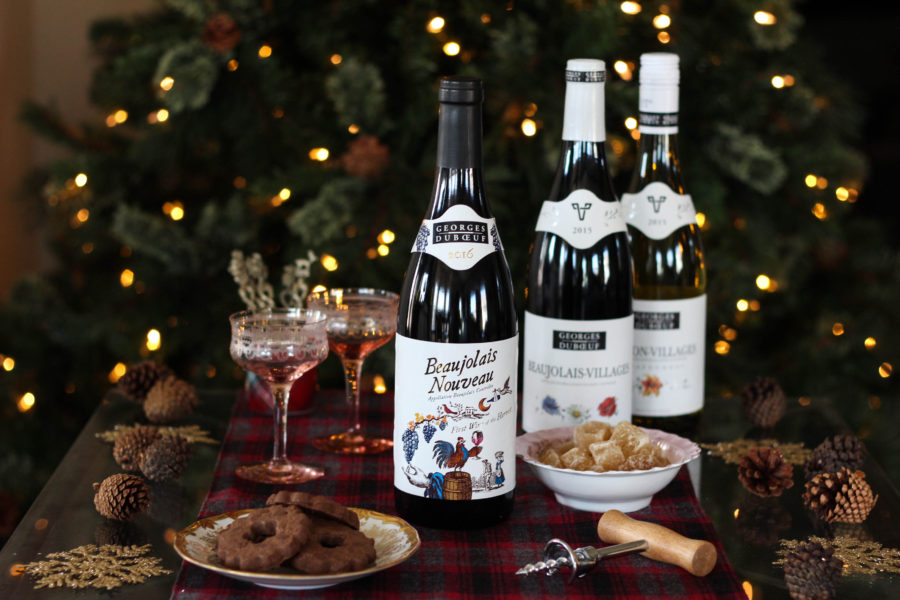 Holiday Ice Decor featuring Georges Duboeuf Beaujolais Nouveau 2016 1 5 - Ice Wine Holder for Georges Duboeuf 2016 Beaujolais Nouveau