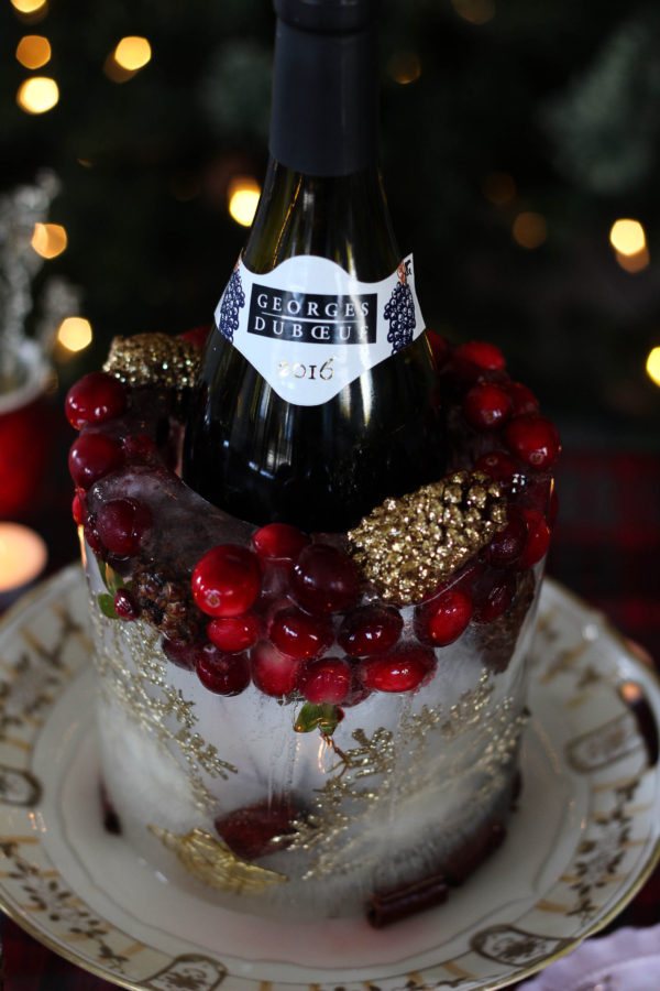 Holiday Ice Wine Holder featuring Georges Duboeuf Beaujolais Nouveau 2016 1 3 - Ice Wine Holder for Georges Duboeuf 2016 Beaujolais Nouveau