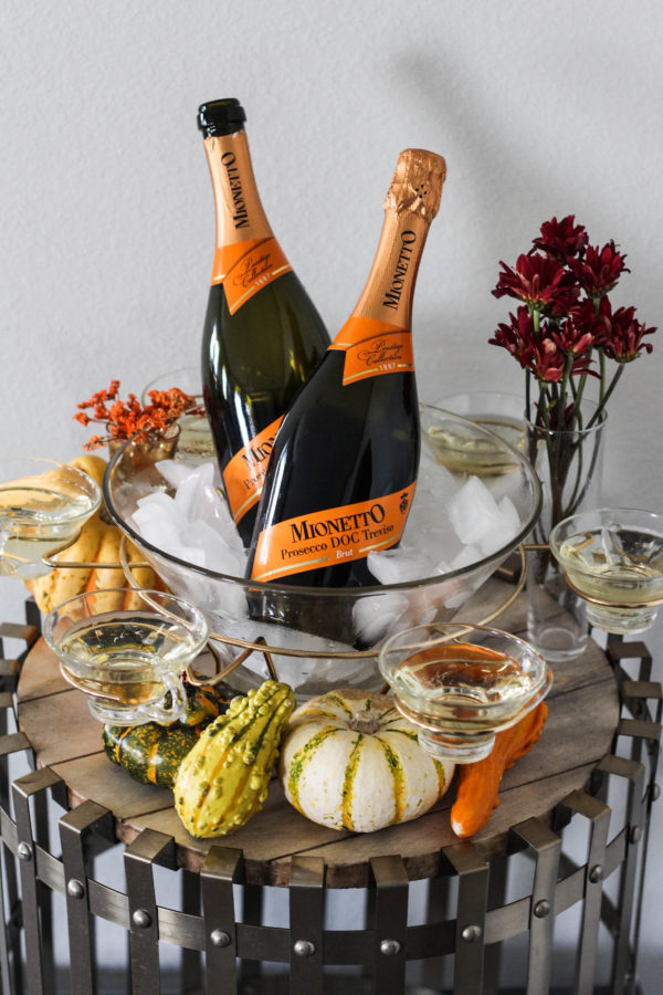 Thanksgiving Prosecco Table with Mionetto 1 2 - The Thanksgiving (Prosecco) Table