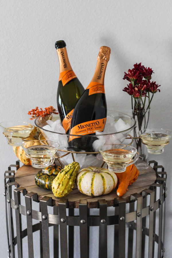 Thanksgiving Prosecco Table with Mionetto 1 3 - The Thanksgiving (Prosecco) Table