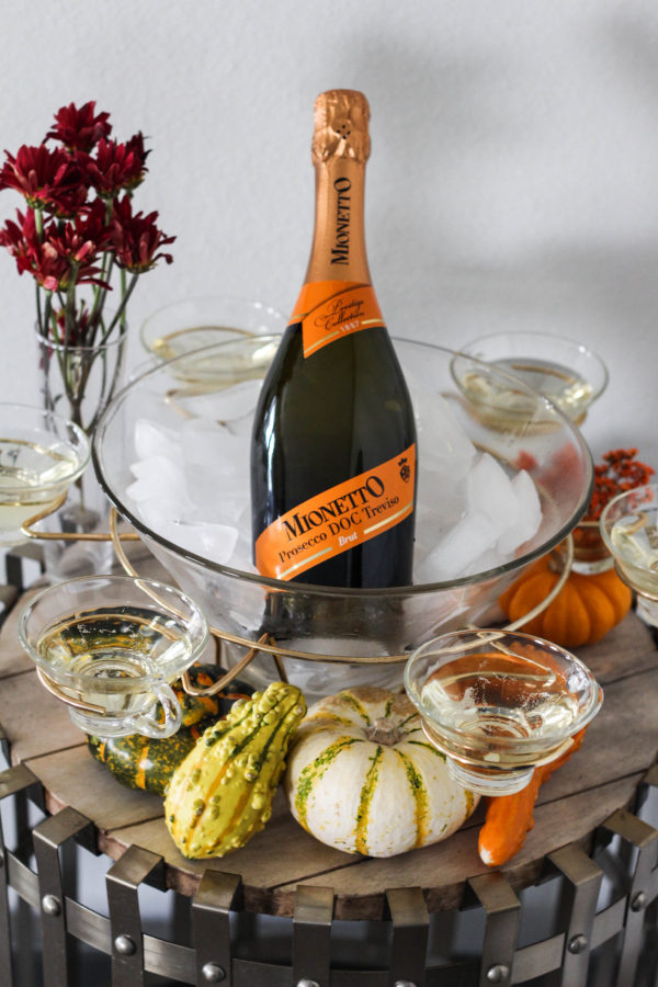 Thanksgiving Prosecco Table with Mionetto 1 4 - The Thanksgiving (Prosecco) Table