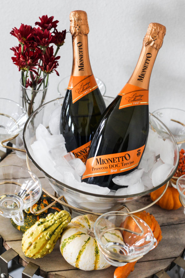 Thanksgiving Prosecco Table with Mionetto - The Thanksgiving (Prosecco) Table