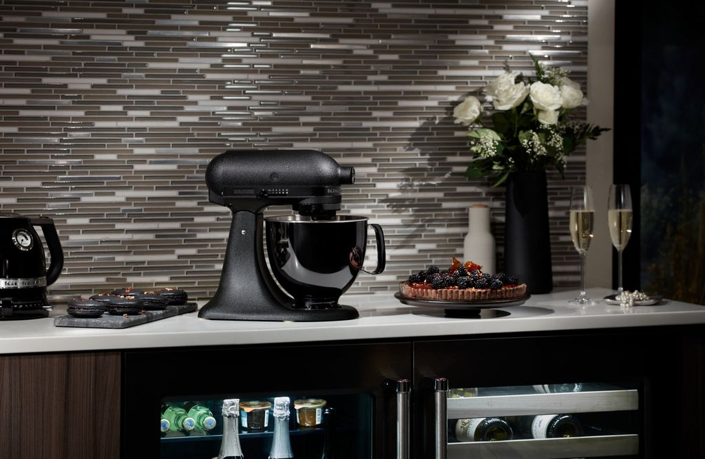 All Black KitchenAid Mixer 1024x667 - Spring Appliance Trends