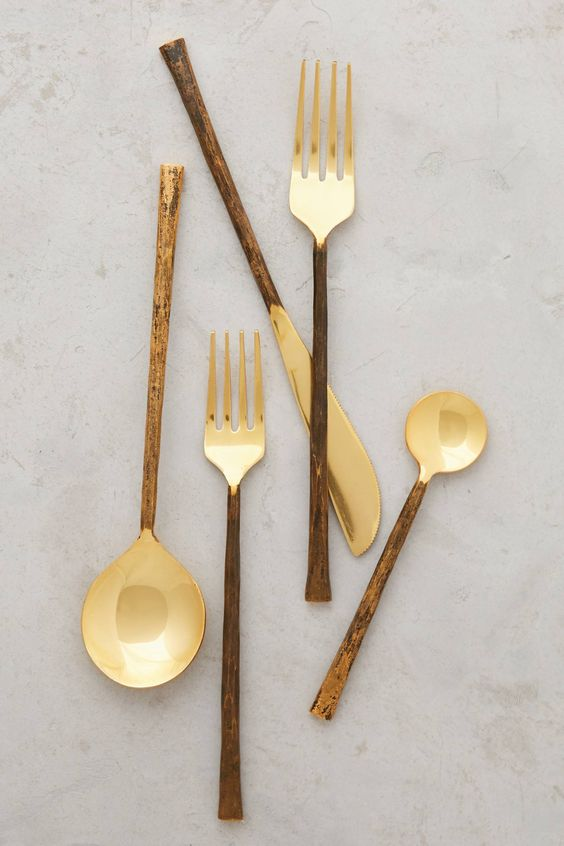 Anthropologie Forged Flatware - Spring Appliance Trends
