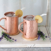 Lemon Coconut Moscow Mule