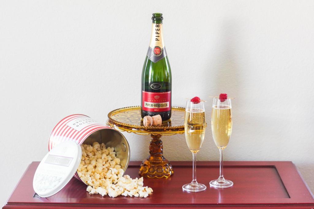 piper-heidsieck, brut, champagne, oscars, 2017 oscars, 2017 academy awards, academy awards, popcorn, hampton popcorn