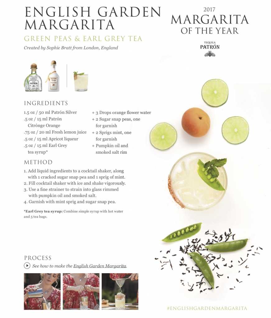 Patron Tequila English Garden Margarita 872x1024 - Patrón Tequila Margarita of the Year - Part 2