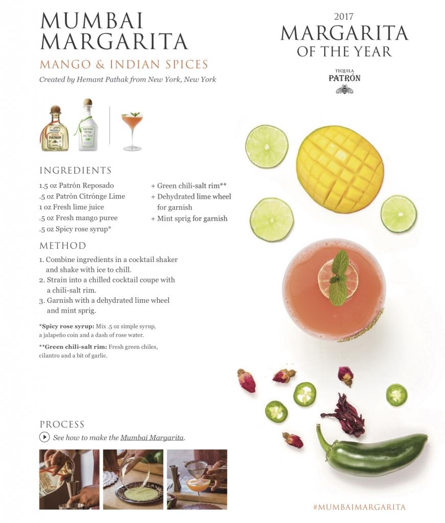 Patron Tequila Mumbai Margarita 870x1024 - Patrón Tequila Margarita of the Year - Part 2
