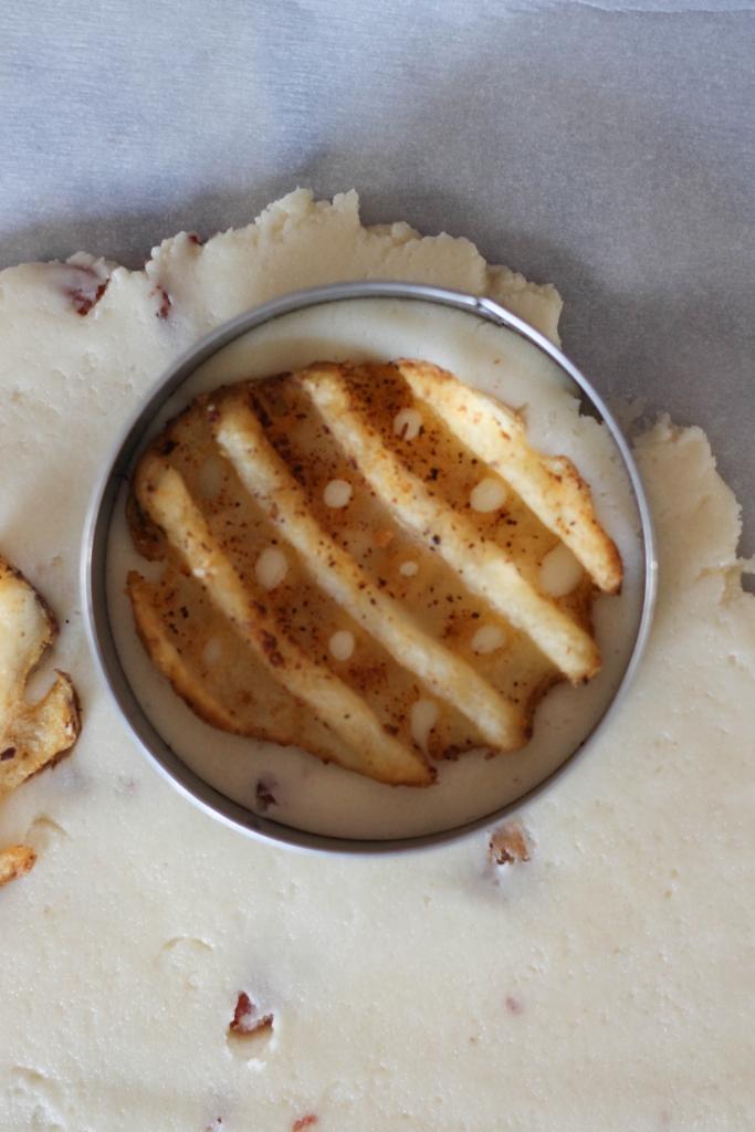Waffle Fry Shortbread Cookies tutorial  683x1024 - Waffle Fry Shortbread Cookies