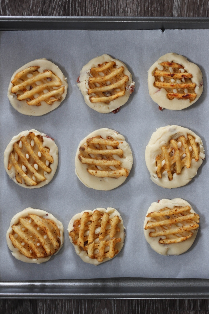 waffle fry, shortbread cookies, cookies, cookie recipe, shortbread recipe