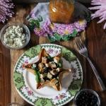 salad, tostada, recipe, recipe tutorial, chicken salad, best recipe, salad recipe