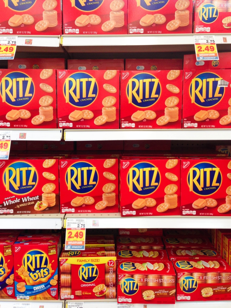 Caprese Lady Bug Ritz Crackers ritz display 768x1024 - Caprese Ladybugs