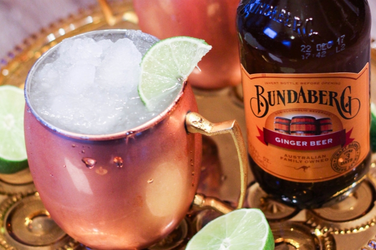 mexican mule, bundaburg, ginger beer, moscow mule, cocktail recipe
