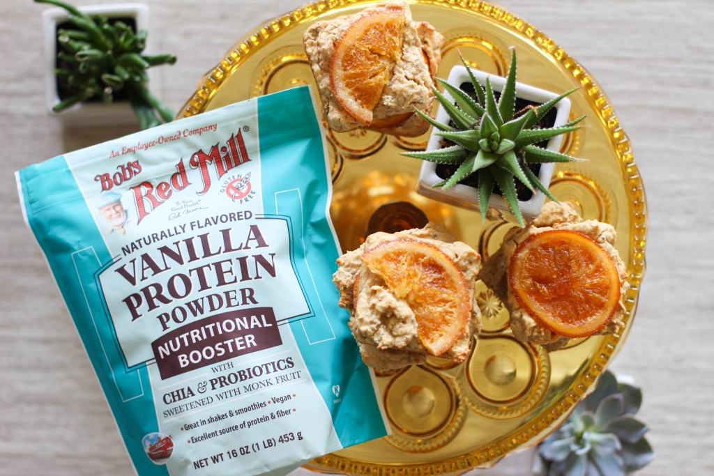 Orange Vanilla Protein Squares Bobs Red Mill Nutritional Boosters  1024x683 - Orange Vanilla Protein Squares
