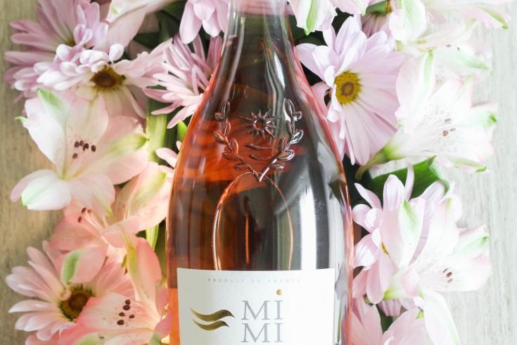 rose wine, wine, mimi en provence