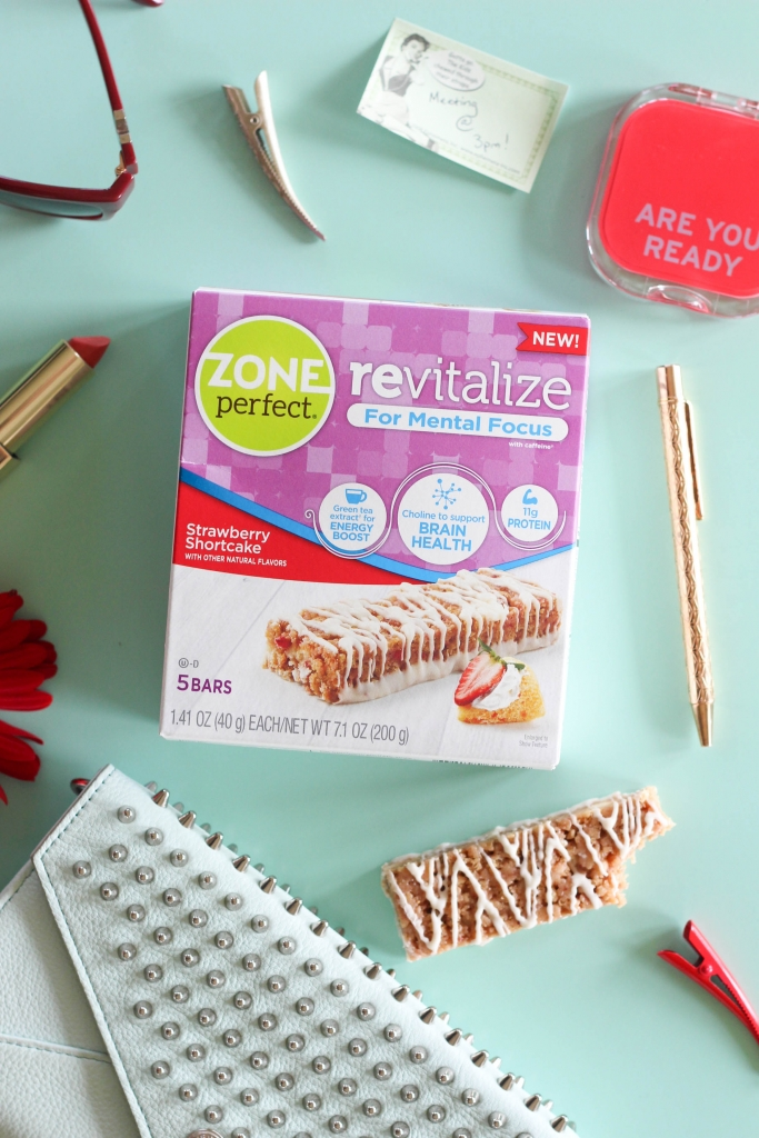 zoneperfect, strawberry shortcake, snack