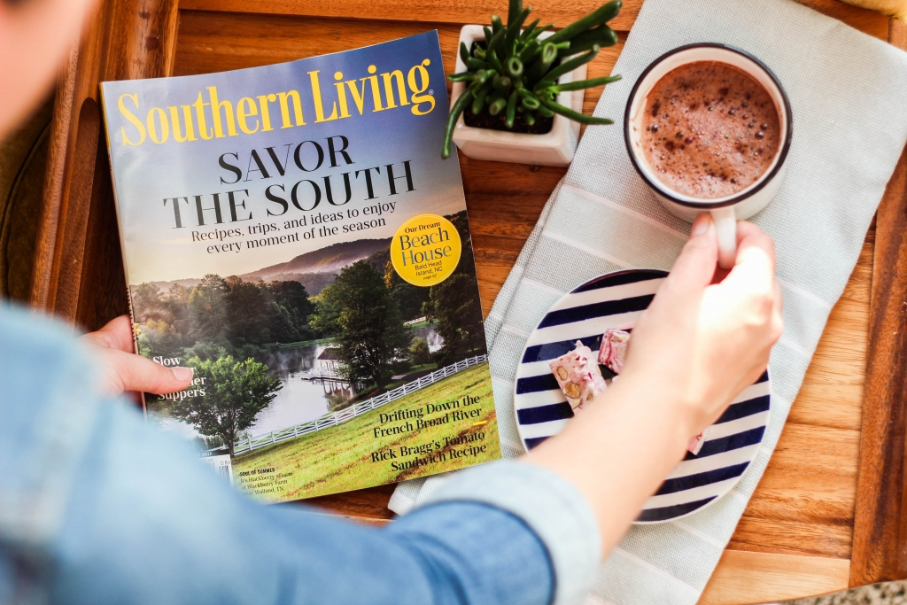 Coffee Break with Southern Living Magazine 1024x683 - Mommy Time-Out with Southern Living