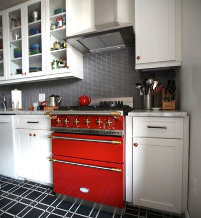 Red Lacanche Range - Kitchen Tools: The Best of Summer