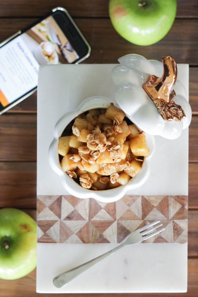 Apple Cobbler Filling Hestan Cue Recipe 682x1024 - Ultimate Holiday Cooking Tool: TheHestanCue