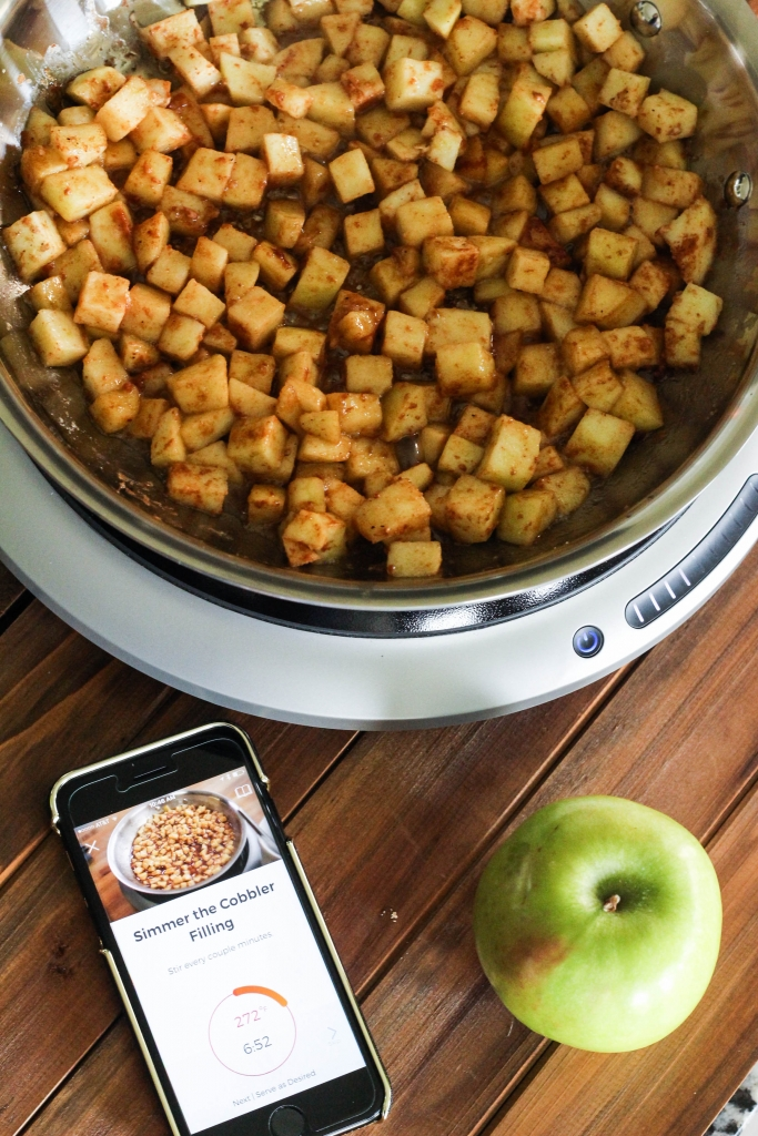Hestan Cue Apple Cobbler Filling 683x1024 - Ultimate Holiday Cooking Tool: TheHestanCue
