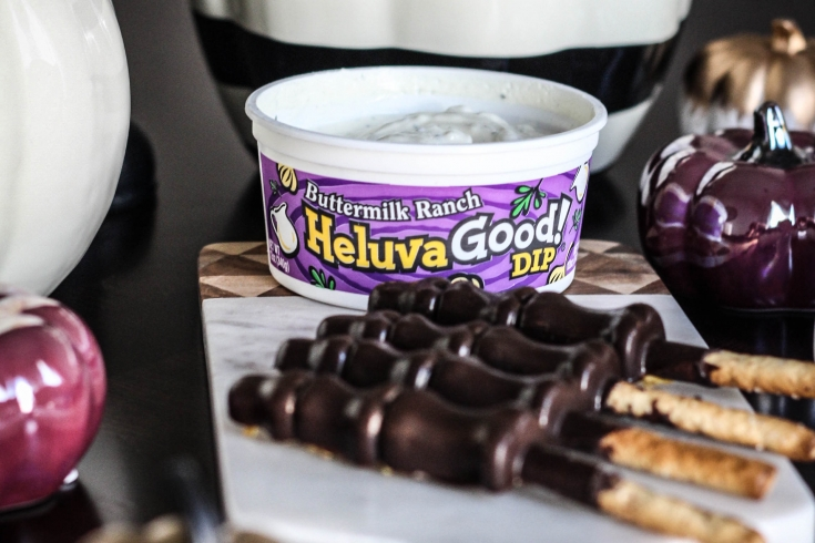 Heluva Good Dip, Chocolate, Halloween Recipe