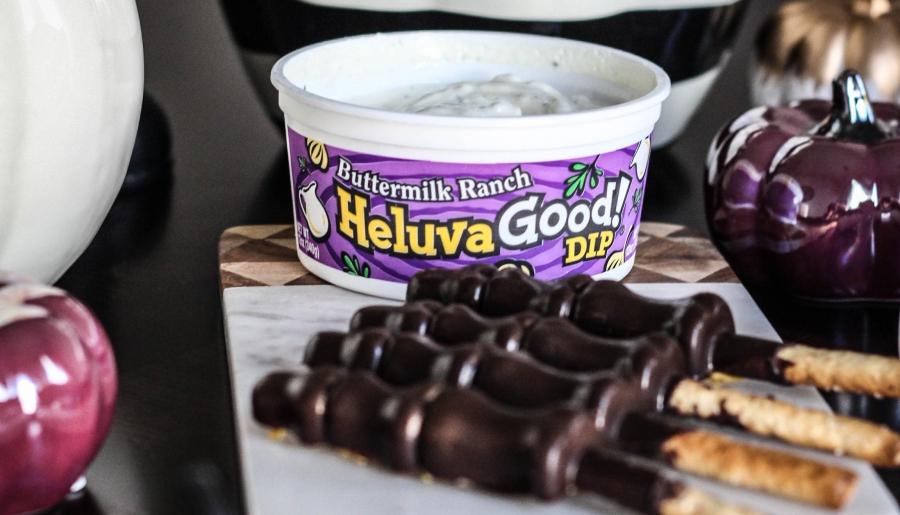 Heluva Good Dip, Chocolate, Halloween Recipe