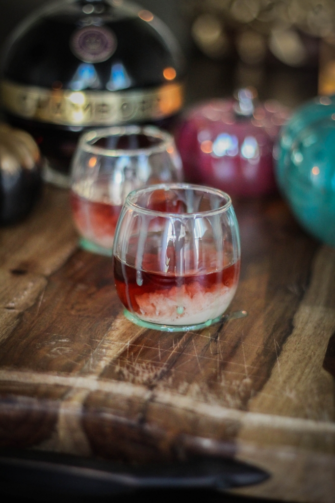 Chambord, Raspberry, Brain Hemorrhage, Cocktail, Halloween