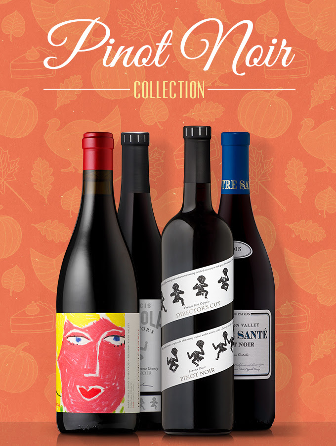 Francis Ford Coppola Winery Pinot Noir Collection - Give Thanks with Coppola & Virginia Dare Wine