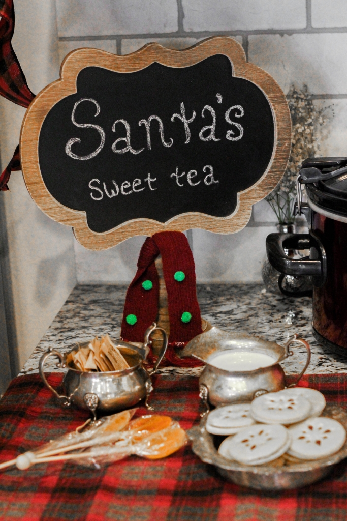Santa, Sweet Tea, Holiday Tea, Mulled