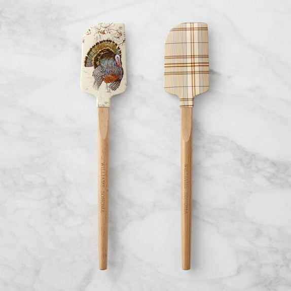 Thanksgiving Host Gift Spatulas - Thanksgiving Day Secrets: Turkey Recipe + Fun Finds