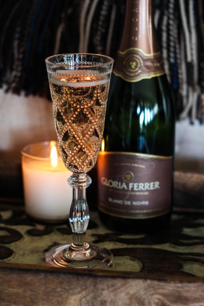 Gloria Ferrer Sparkling Wine Sonoma Brut Blanc De Noirs 1 2 683x1024 - Getting Cozy with Gloria Ferrer