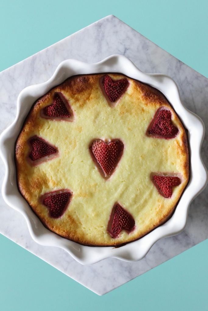 Rosé, Brut Rosé Ricotta Pie, Cheesecake