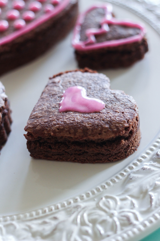 Red Wine Rose Water Brownies 1 3 683x1024 - Red Wine & Rose Water Brownies