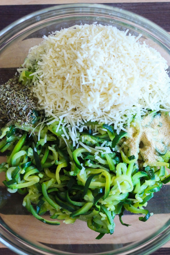 Baked Zucchini Spaghetti Medallions with Green Giant Veggie Spirals tutorial 683x1024 - Baked Zucchini Spaghetti Medallions