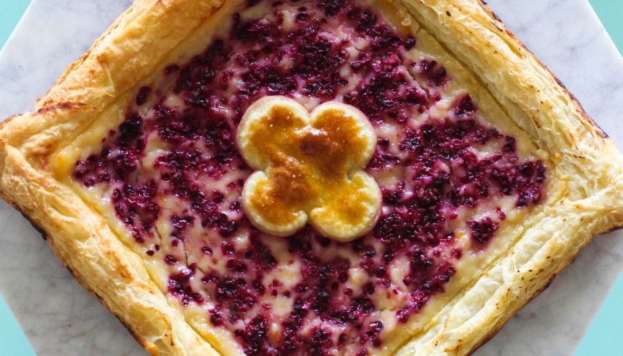 Cheese danish, pepperidge farm, puff pastry